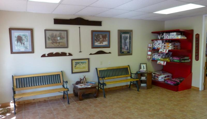 King-Care Pet Center Waiting Room
